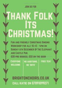 Thank folk It's Christmas 2015