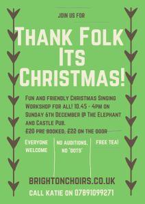 Thank folk It's Christmas 2015